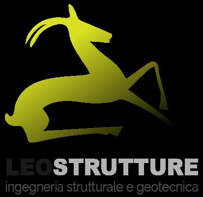 logo leostrutture con gazzella ingegneria strutturale geotecnica