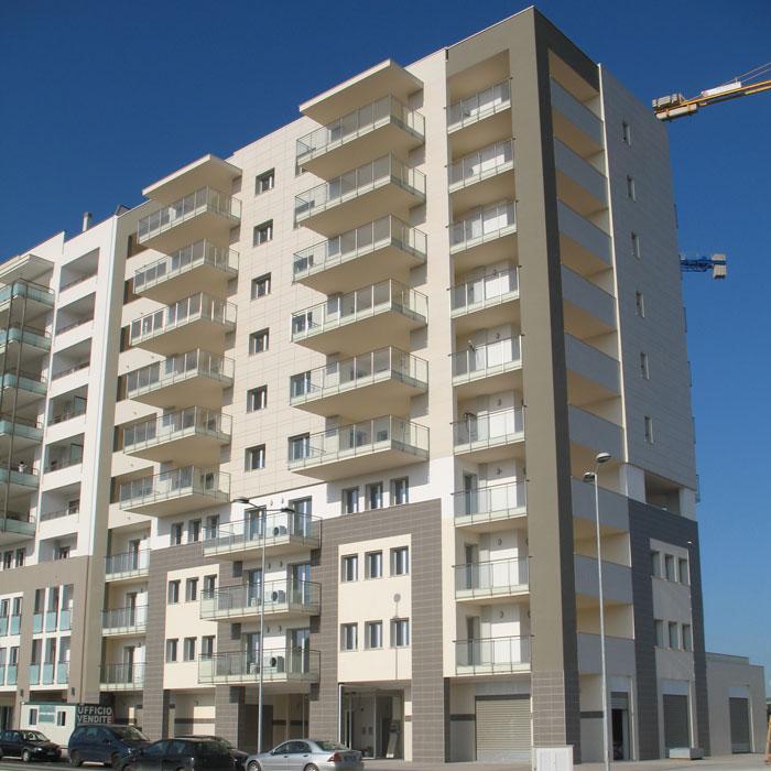 palazzo edilmar L2 Bari prospetto principale